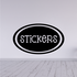 Stickers Oval Decal