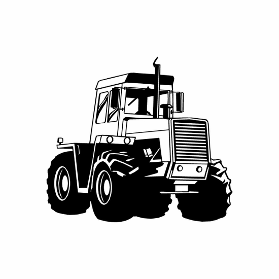 Heavy Towing Cab Decal