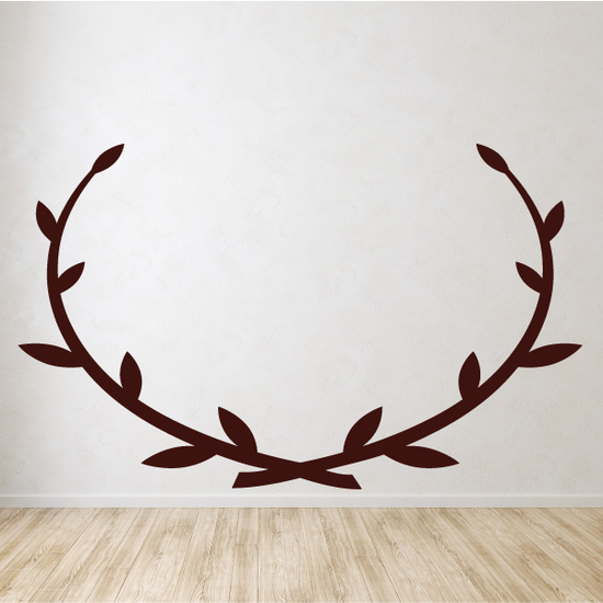 Wreath Embellishment Decal