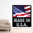 Made in the USA Realistic Flag Sticker