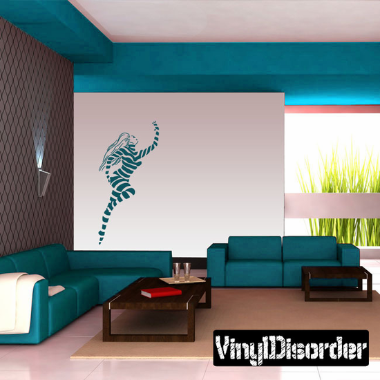 Striped Jumping Dancer Decal