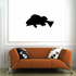 Hunting Rockfish Silhouette Decal
