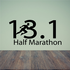 13.1 Marathon Decal