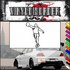 Basketball Wall Decal - Vinyl Decal - Car Decal - SM007