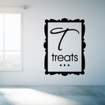 Treats Square Decal