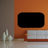 Rounded Rectangle Chalkboard Jar Label Decal