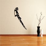 Looking Parrot Decal
