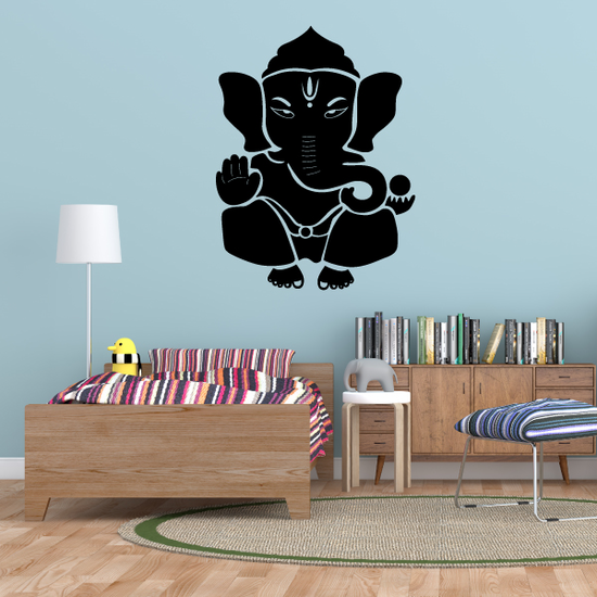 Lord Ganesh Hand Decal