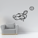 Volleyball Wall Decal - Vinyl Decal - Car Decal - CDS026