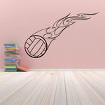 Volleyball Wall Decal - Vinyl Decal - Car Decal - CDS028