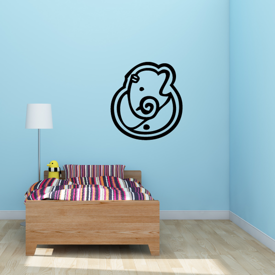 Baby Ganesh Symbol Decal