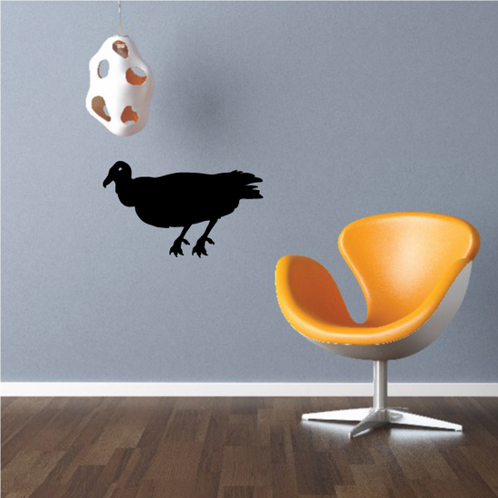 Crouching Vulture Decal