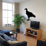 Standing Vulture Decal