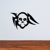 Tribal Skull Decals