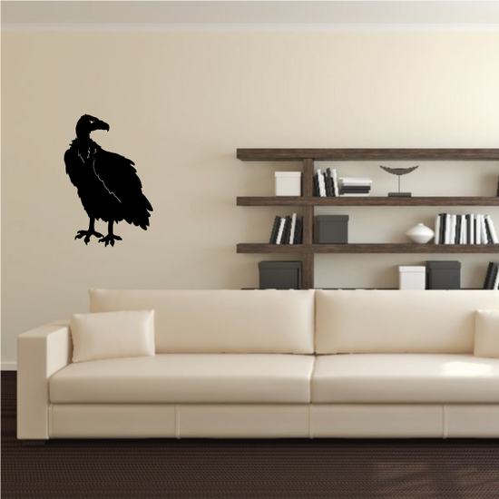 Turning Head Vulture Decal
