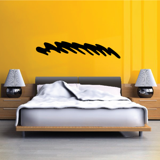 Tribal Pinstripe Wall Decal - Vinyl Decal - Car Decal - 030