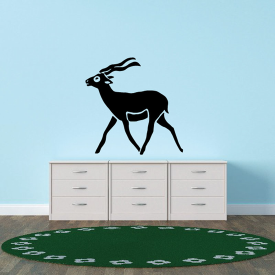 Gazelle Walking Decal