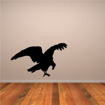 Pecking Vulture Decal