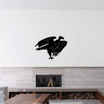 Shuffling Vulture Decal