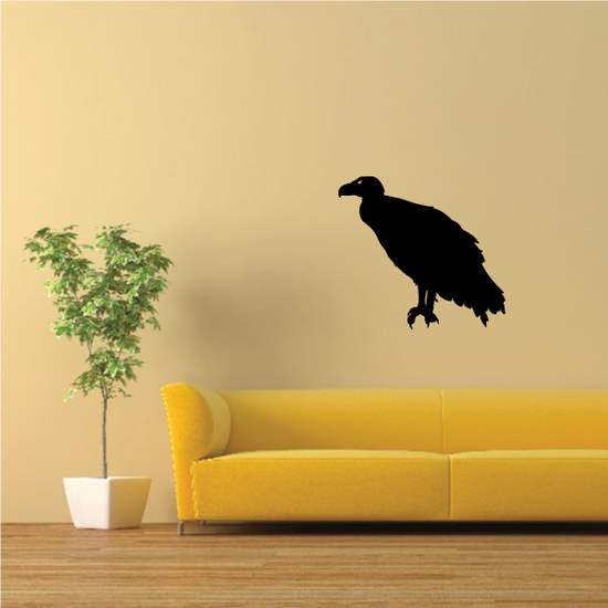 Mighty Vulture Perched Decal