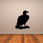 Vulture on Nest Decal