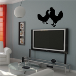 Chicken Pair Decal