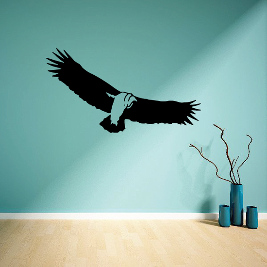 Golden Eagle Soaring Decal