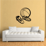 Basketball Sport Shoes Decal