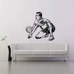 Volleyball Wall Decal - Vinyl Decal - Car Decal - CDS050