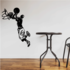 Basketball Wall Decal - Vinyl Decal - Car Decal - CDS066