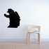 Firefighter Silhouette Decal