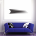 Tribal Pinstripe Wall Decal - Vinyl Decal - Car Decal - 083