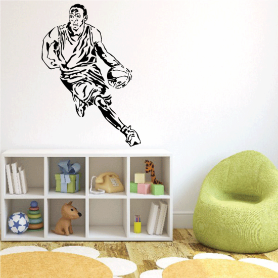Basketball Wall Decal - Vinyl Decal - Car Decal - CDS132