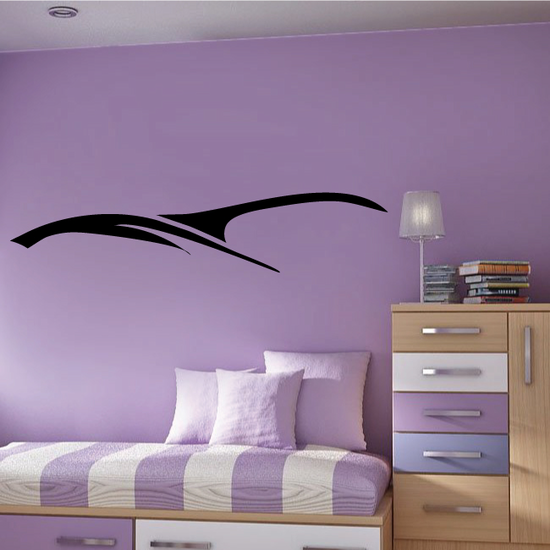 Tribal Pinstripe Wall Decal - Vinyl Decal - Car Decal - 087