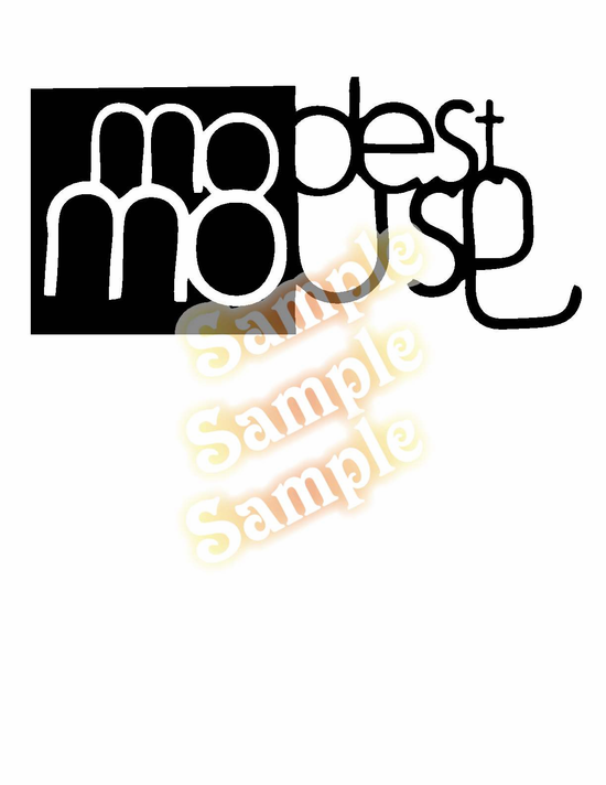 Modest Mouse Decal