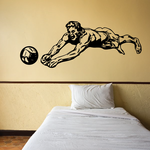 Volleyball Wall Decal - Vinyl Decal - Car Decal - CDS077