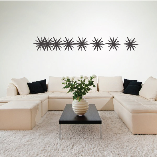 Tribal Pinstripe Wall Decal - Vinyl Decal - Car Decal - 099