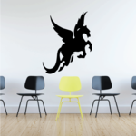 Flying Pegasus Decal
