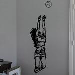 Volleyball Wall Decal - Vinyl Decal - Car Decal - CDS083