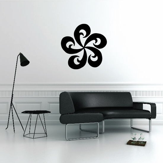 Tribal Pinstripe Wall Decal - Vinyl Decal - Car Decal - 109
