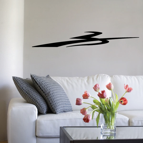 Tribal Pinstripe Wall Decal - Vinyl Decal - Car Decal - 137