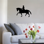 Show Horse with Rider Decal