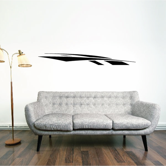 Tribal Pinstripe Wall Decal - Vinyl Decal - Car Decal - 144