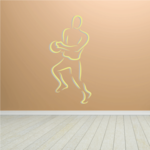 Basketball Wall Decal - Vinyl Sticker - Car Sticker - Die Cut Sticker - CDScolor021