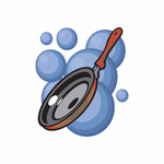 Frying Pan Sticker