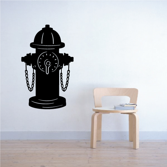 Fire Hydrant Decal