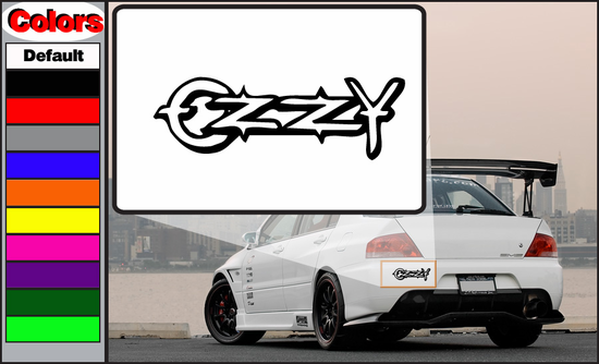 Ozzy Simple Text Decal