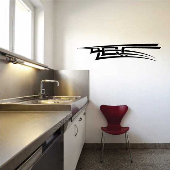 Tribal Pinstripe Wall Decal - Vinyl Decal - Car Decal - 157