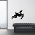 Abstract Leaping Goat Decal