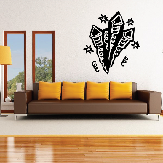 Birthday Fireworks Flying Decal